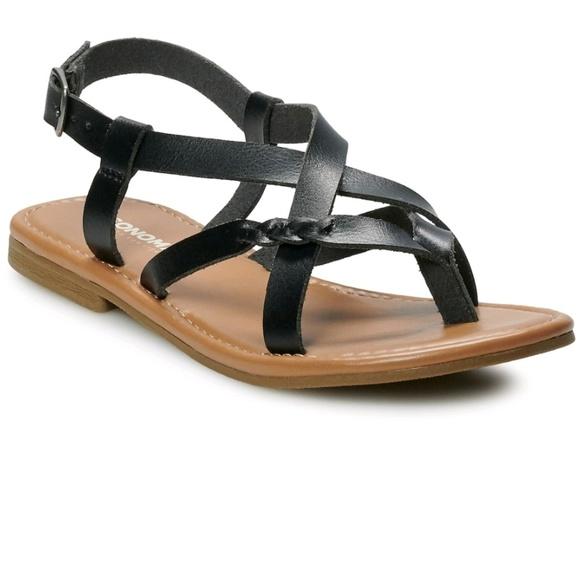 Sonoma Shoes - Sonoma sandles black